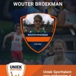 Stem op onze Wouter: Uniek sporttalent van het jaar!!