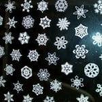 6-puntige sneeuwvlokken knippen! [knutselgekakel]
